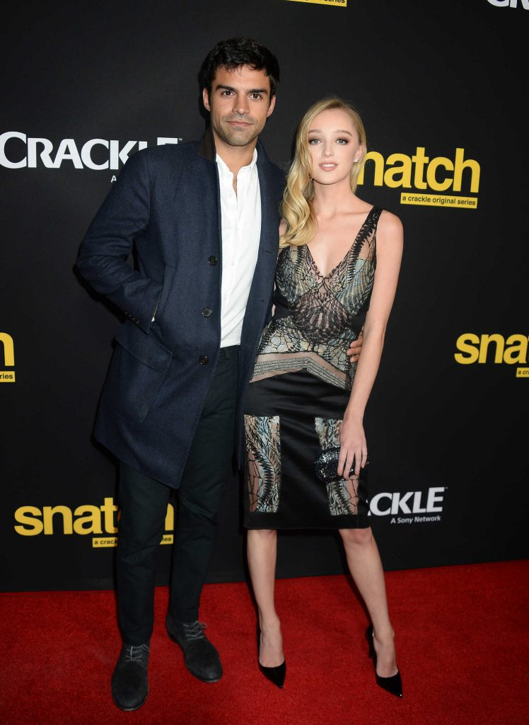 Phoebe Dynevor at the Crackle's Snatch Screening in Los Angeles-4