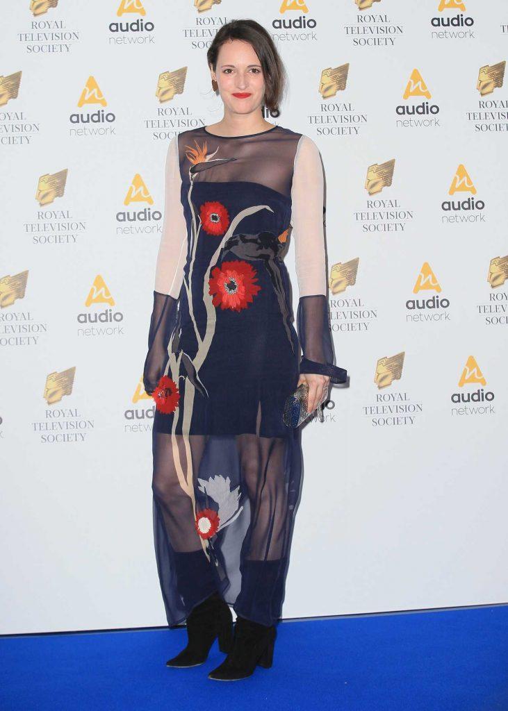 Phoebe Waller-Bridge at the Royal Television Society Programme Awards in London-1