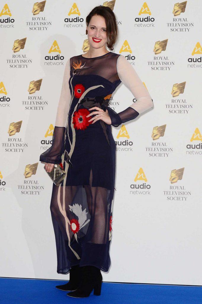 Phoebe Waller-Bridge at the Royal Television Society Programme Awards in London-3
