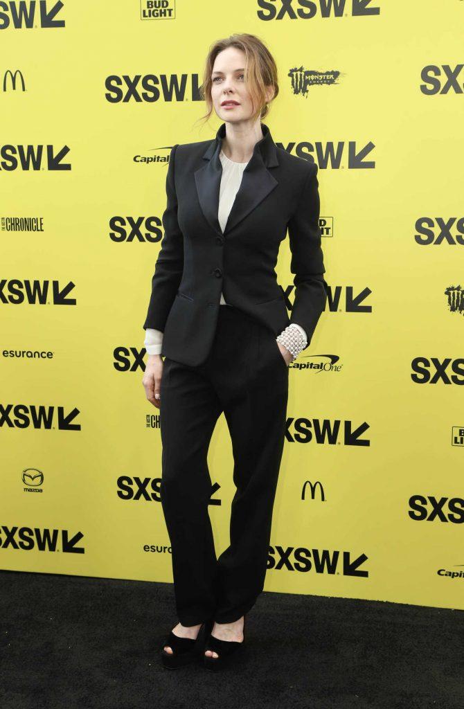 Rebecca Ferguson at the Life Premiere During the SXSW Festival in Austin-2