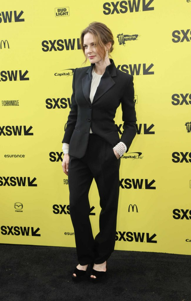 Rebecca Ferguson at the Life Premiere During the SXSW Festival in Austin-3