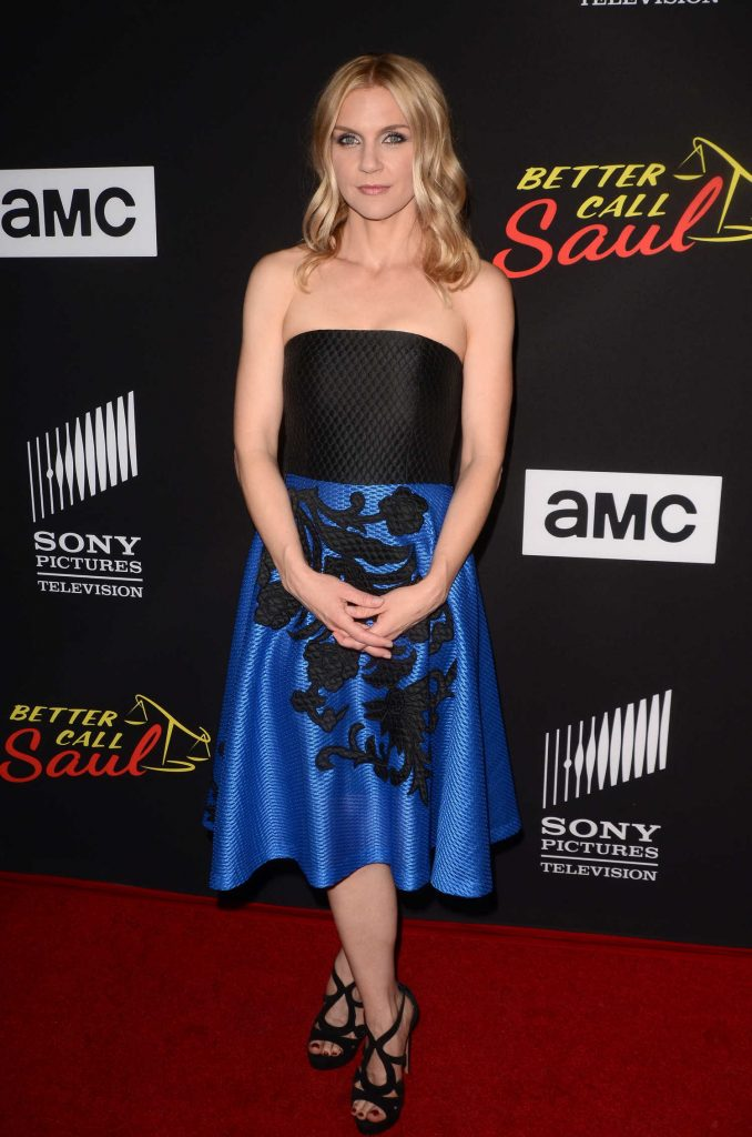 Rhea Seehorn at the Better Call Saul TV Series Season 3 Premiere in Los Angeles-2
