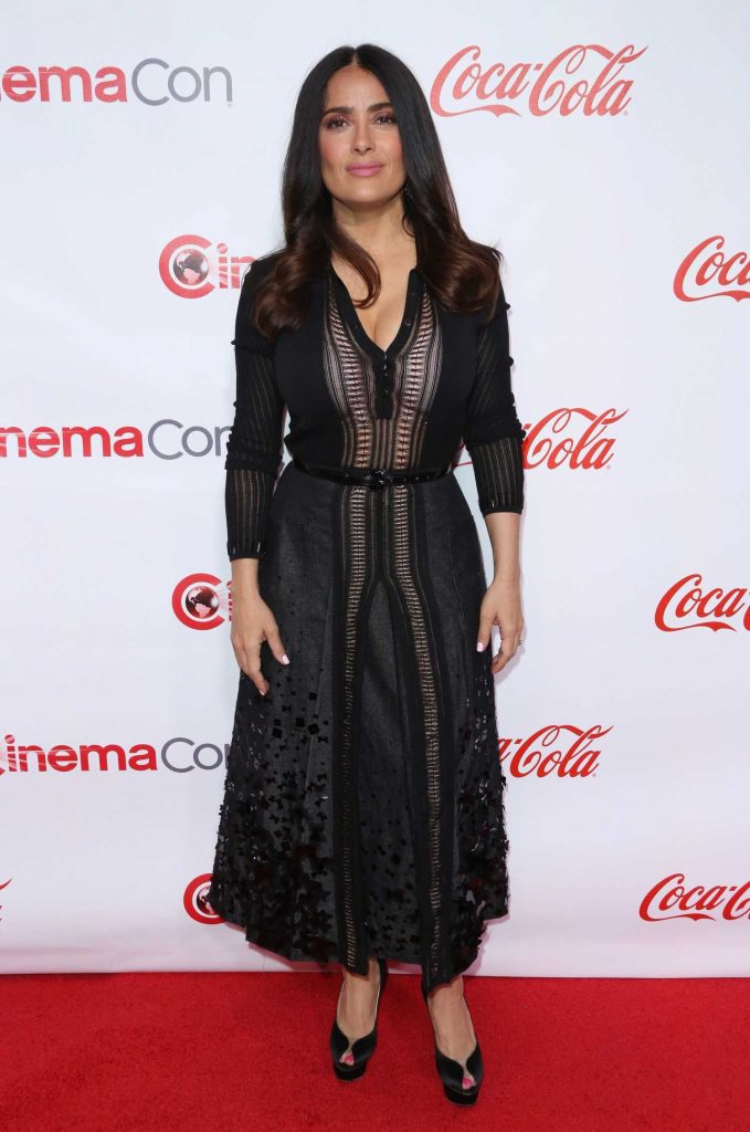 Salma Hayek at the Big Screen Achievement Awards During the CinemaCon in Las Vegas-1