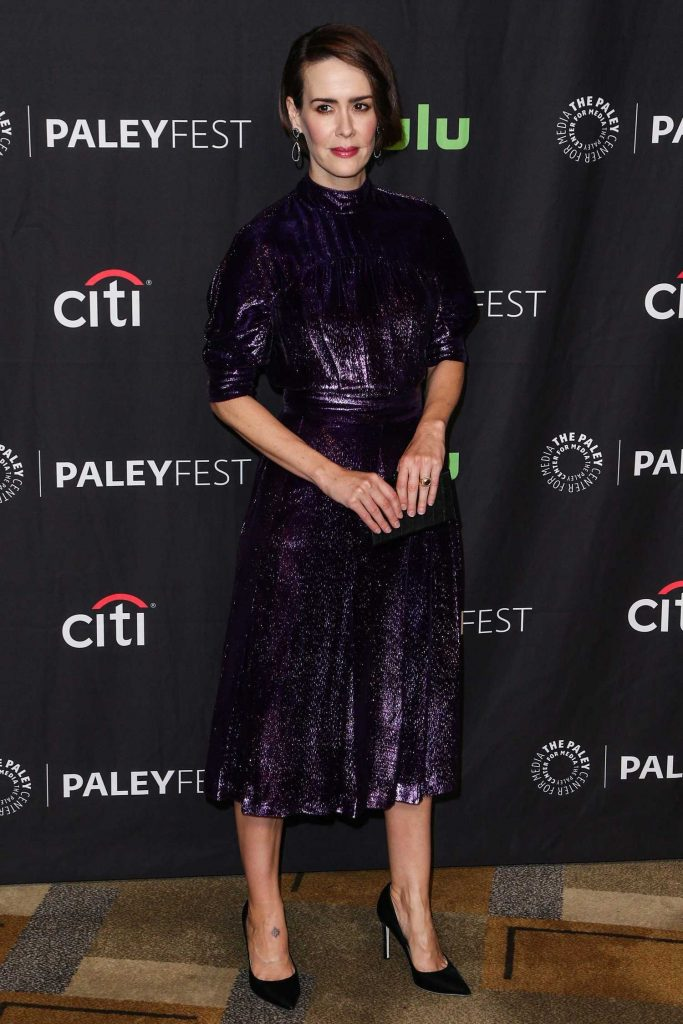 Sarah Paulson at American Horror Story: Roanoke Presentation During the Paleyfest LA in Los Angeles-1