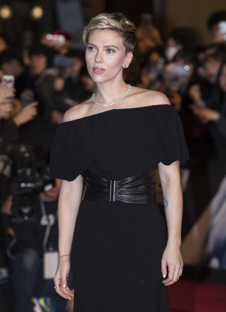 Scarlett Johansson at the Korean Red Carpet Fan Event of the Ghost In The Shell Release in Seoul-3