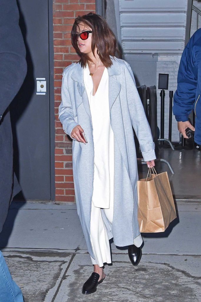 Selena Gomez Was Seen Out in New York-1