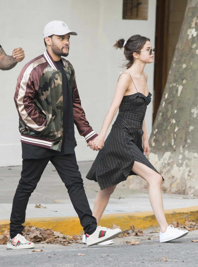Selena Gomez Was Seen With The Weeknd in Buenos Aires-1