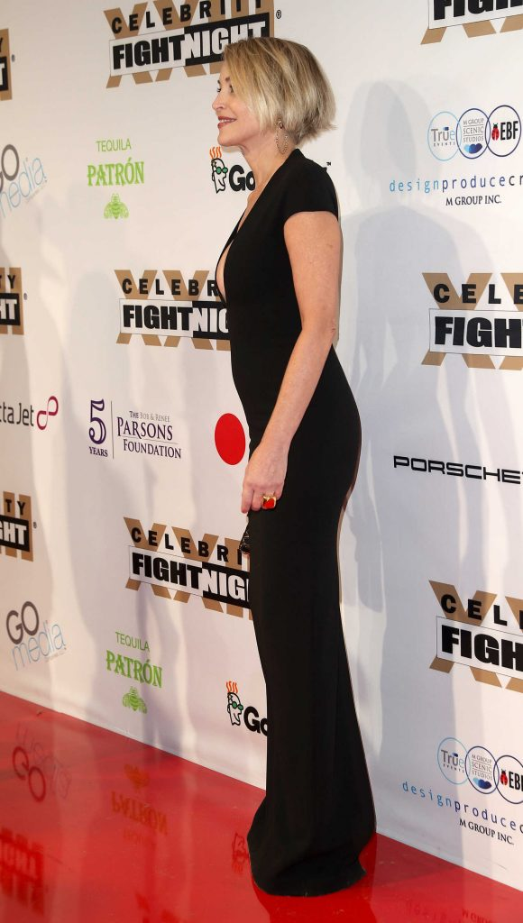 Sharon Stone at the Muhammad Ali's Celebrity Fight Night in West Hollywood-5