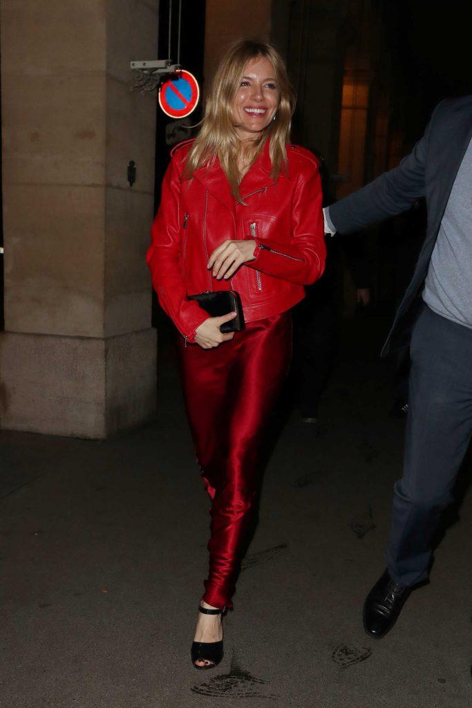 Sienna Miller Was Seen Out in Paris-3