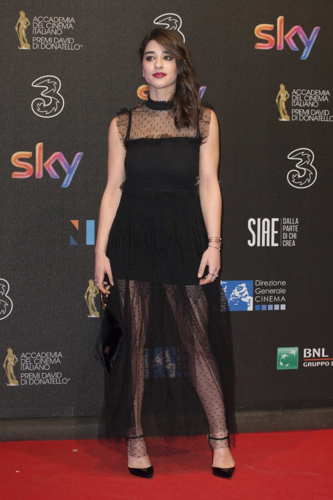 Simona Tabasco at the 2017 David di Donatello Awards in Rome-1