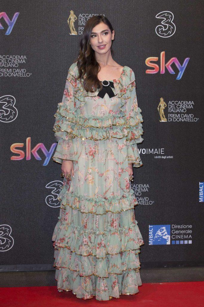 Stella Egitto at the 2017 David di Donatello Awards in Rome-1