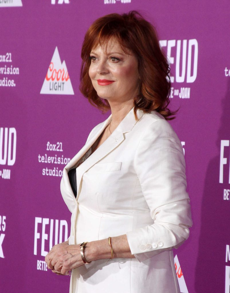 Susan Sarandon at the Feud: Bette and Joan TV Series Premiere in Los Angeles-4
