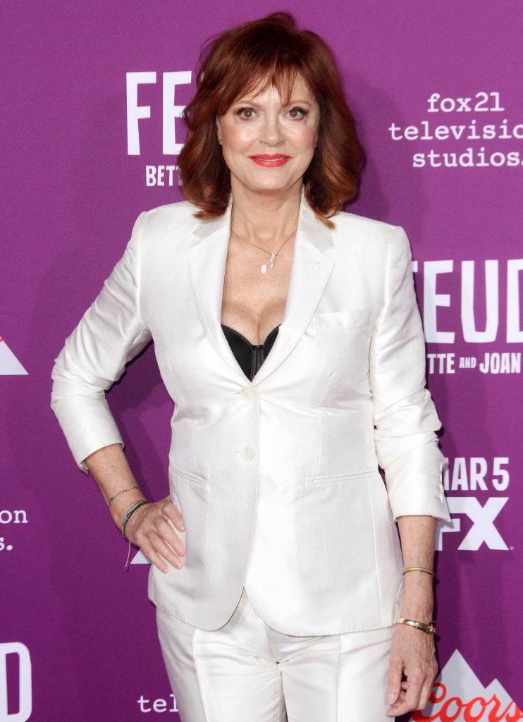 Susan Sarandon at the Feud: Bette and Joan TV Series Premiere in Los Angeles-5