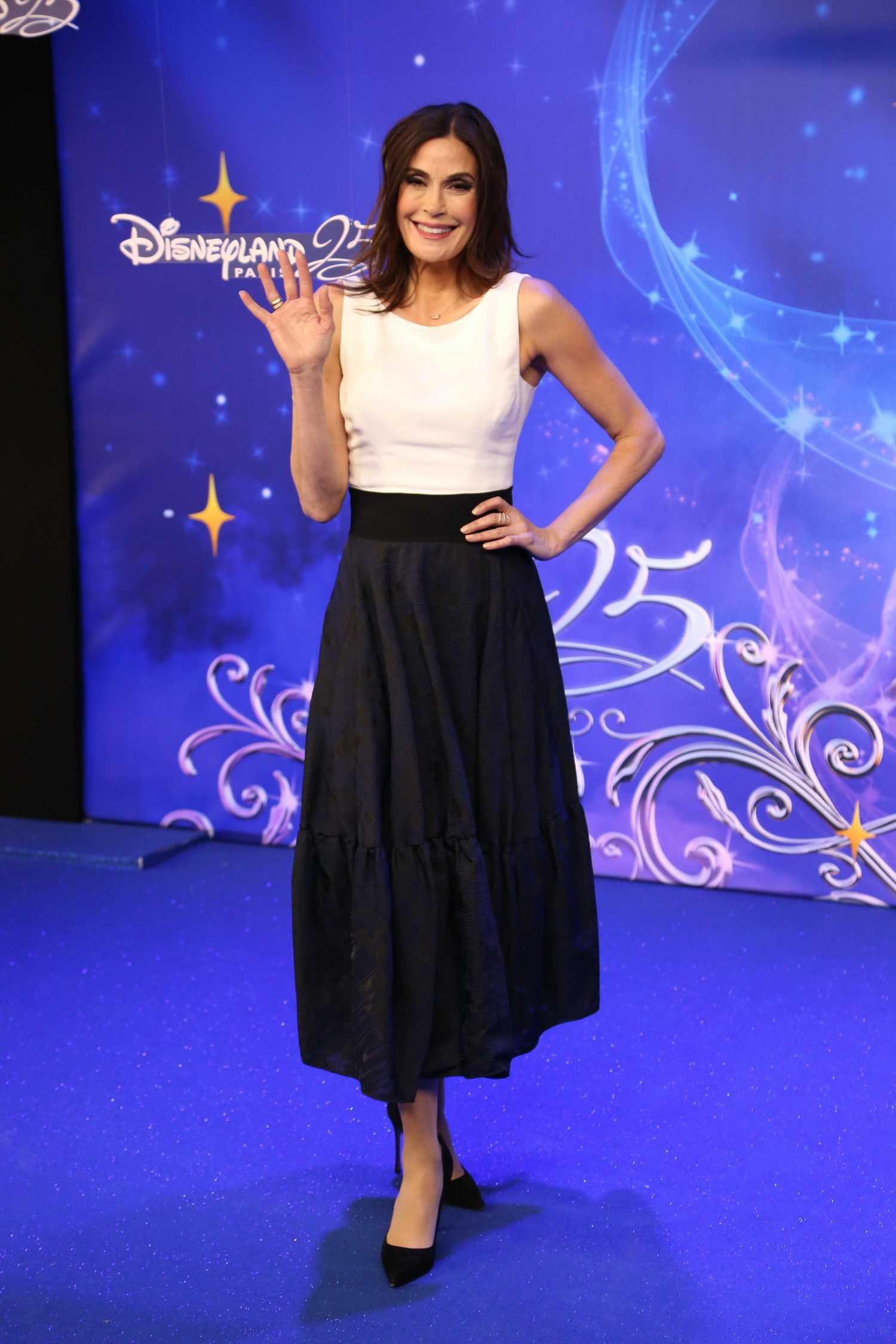 Teri Hatcher At The Disneyland Paris 25th Anniversary