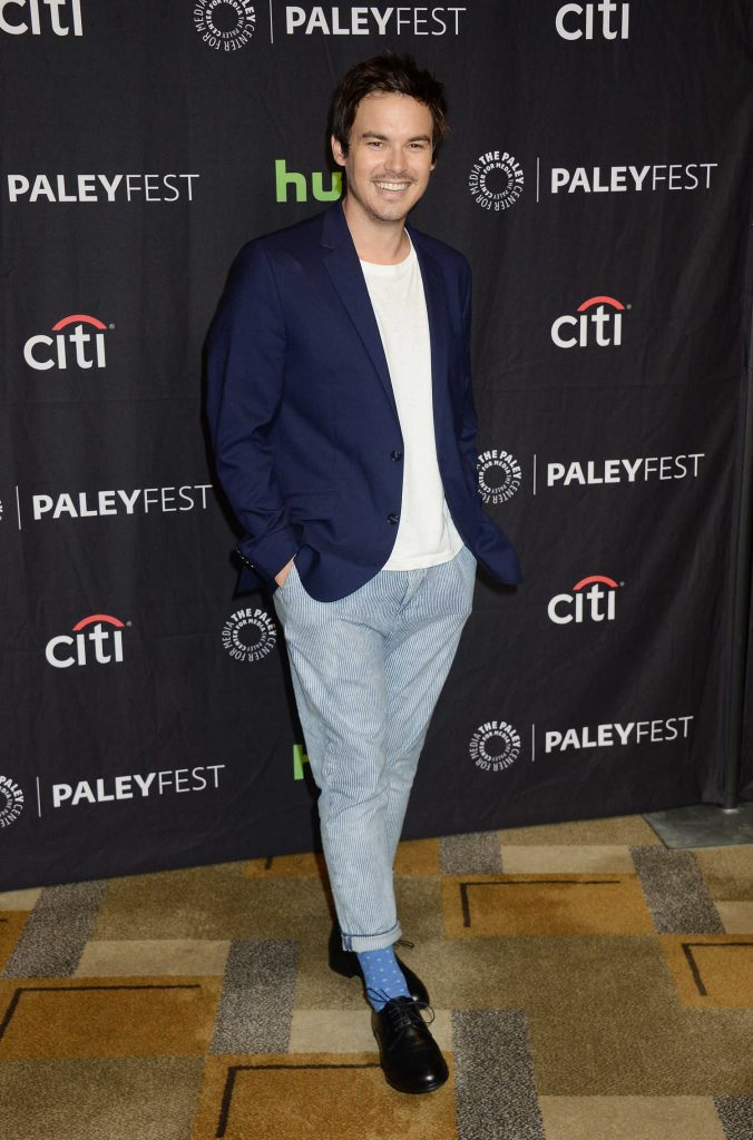 Tyler Blackburn at the Pretty Little Liars Presentation During the Paleyfest LA in Los Angeles-1