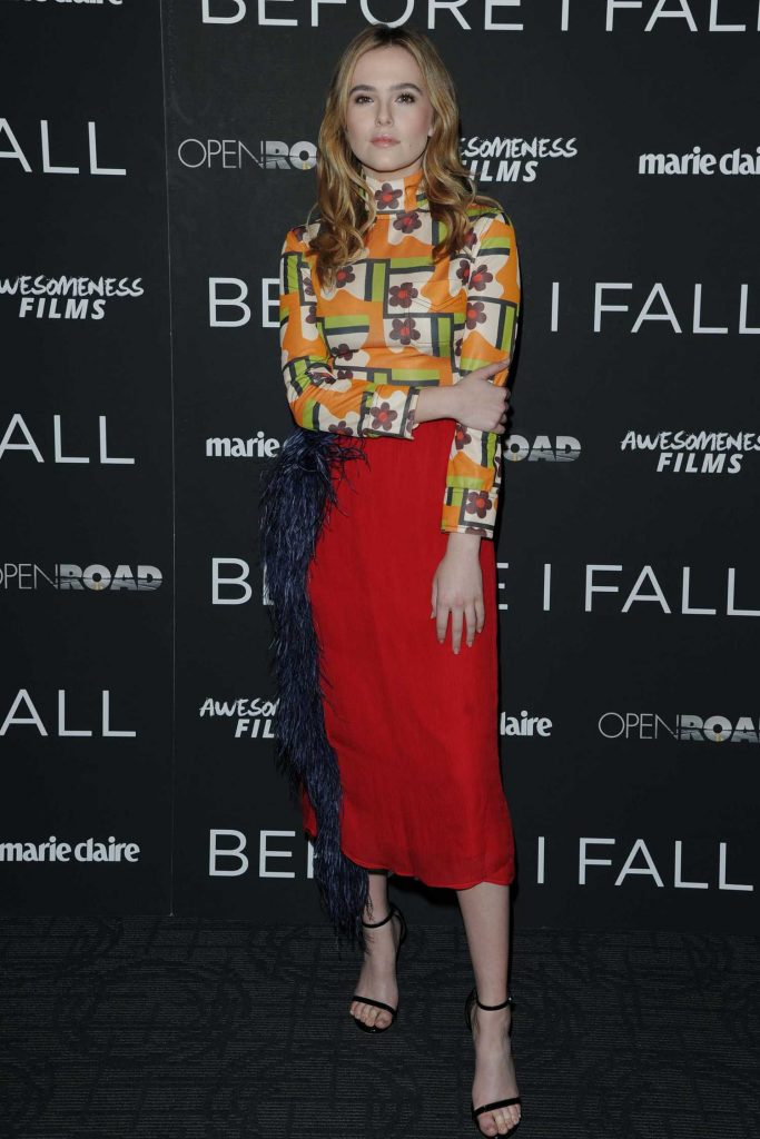 Zoey Deutch at the Before I Fall Screening in New York-2