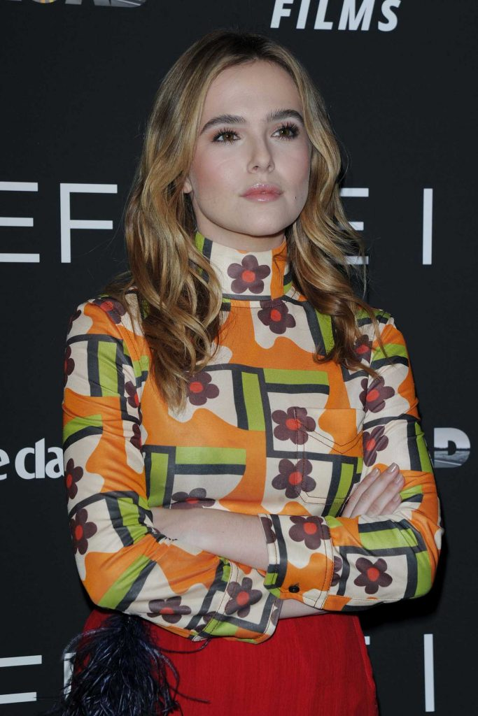 Zoey Deutch at the Before I Fall Screening in New York-4