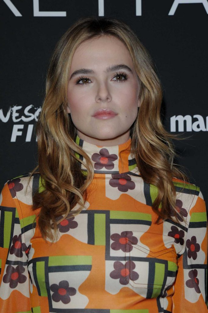 Zoey Deutch at the Before I Fall Screening in New York-5