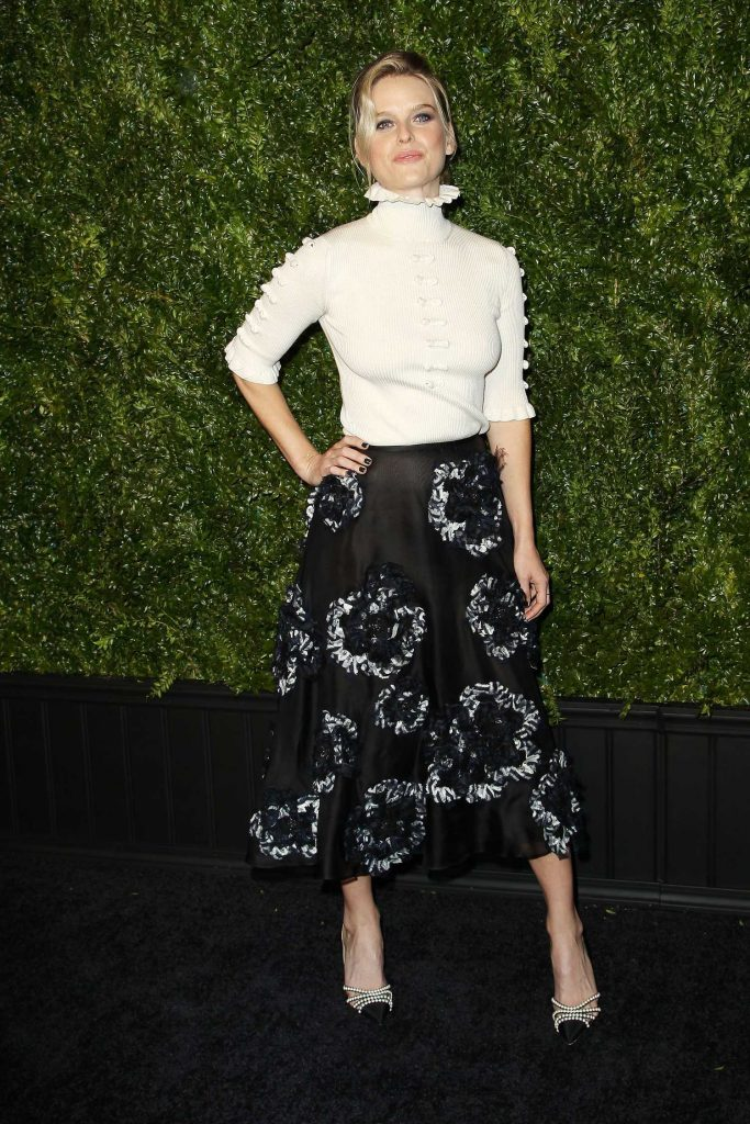 Alice Eve at the Chanel Artists Dinner During the Tribeca Film Festival in New York-1