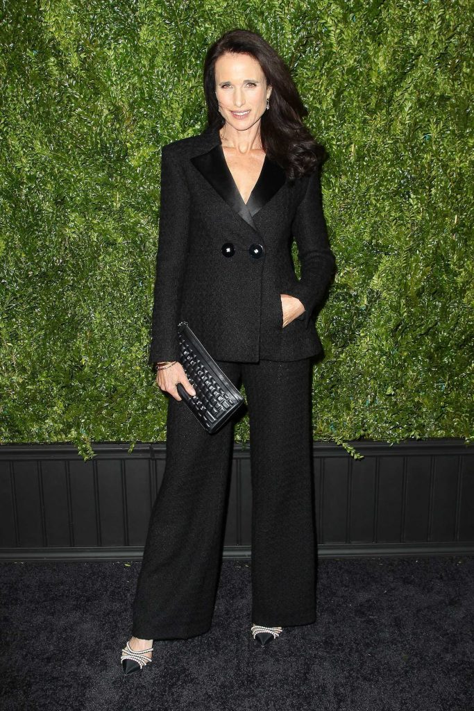 Andie MacDowell at the Chanel Artists Dinner During the Tribeca Film Festival in New York-1
