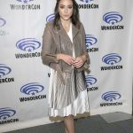 Chloe Bennet at Agents of Shield Press Room at WonderCon in Anaheim