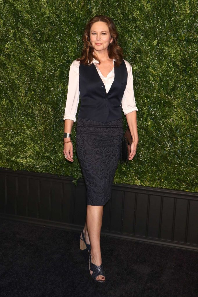 Diane Lane at the Chanel Artists Dinner During the Tribeca Film Festival in New York-1
