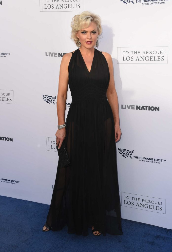 Elaine Hendrix at the Humane Society of the United States' Annual to the Rescue! Los Angeles Benefit in Hollywood-1