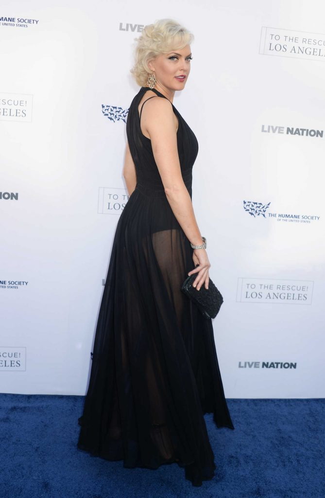Elaine Hendrix at the Humane Society of the United States' Annual to the Rescue! Los Angeles Benefit in Hollywood-2