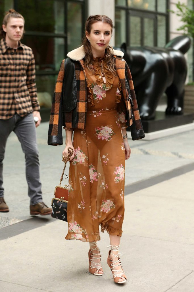 Emma Roberts Was Spotted Out in New York City-2