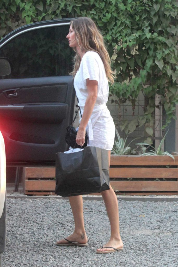 Gisele Bundchen Was Seen Out in Santa Teresa-4
