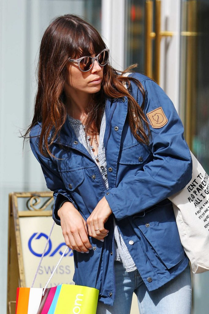Jessica Biel Out Shopping in New York-4