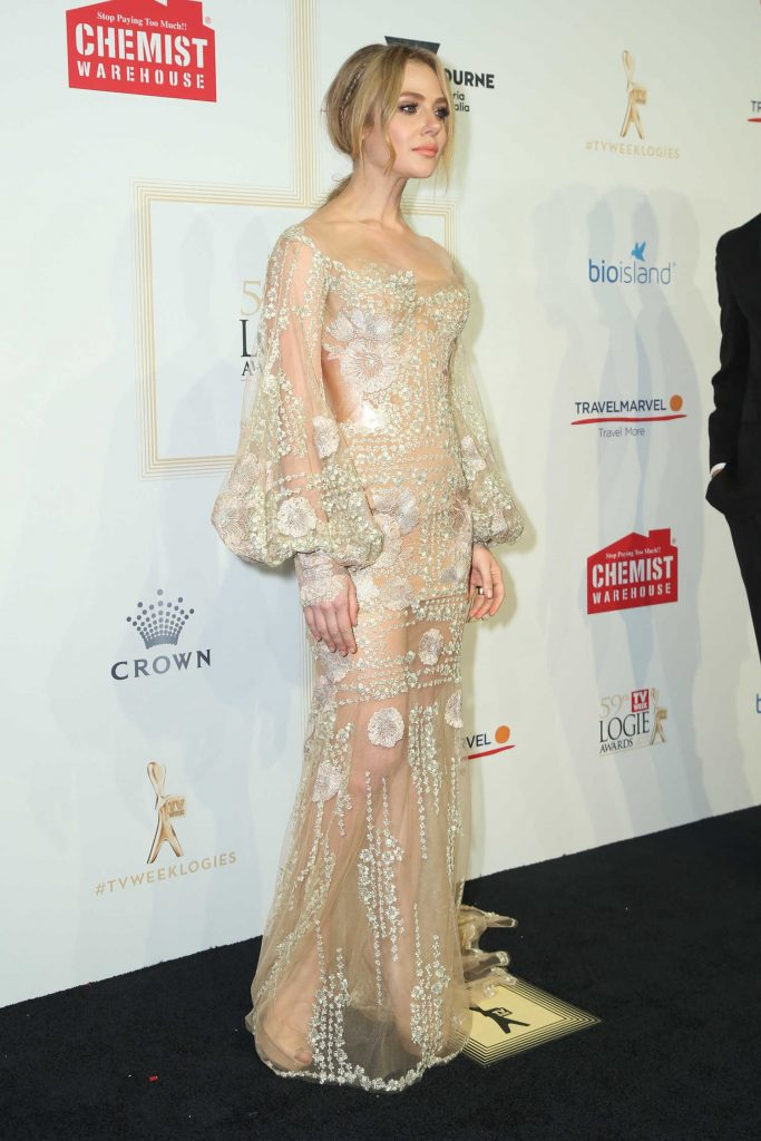 Jessica Marais at the 59th Annual TV Week Logie Awards in Melbourne-3