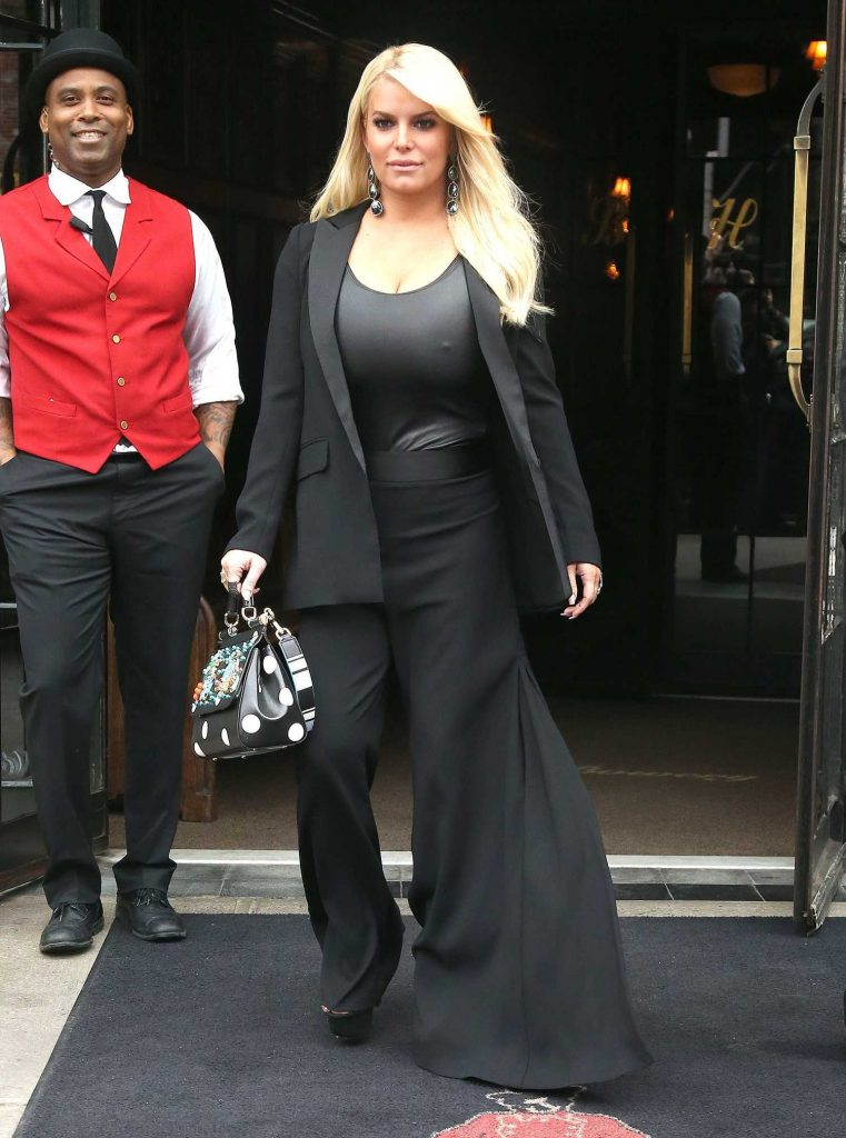 Jessica Simpson Was Seen Out in New York-1