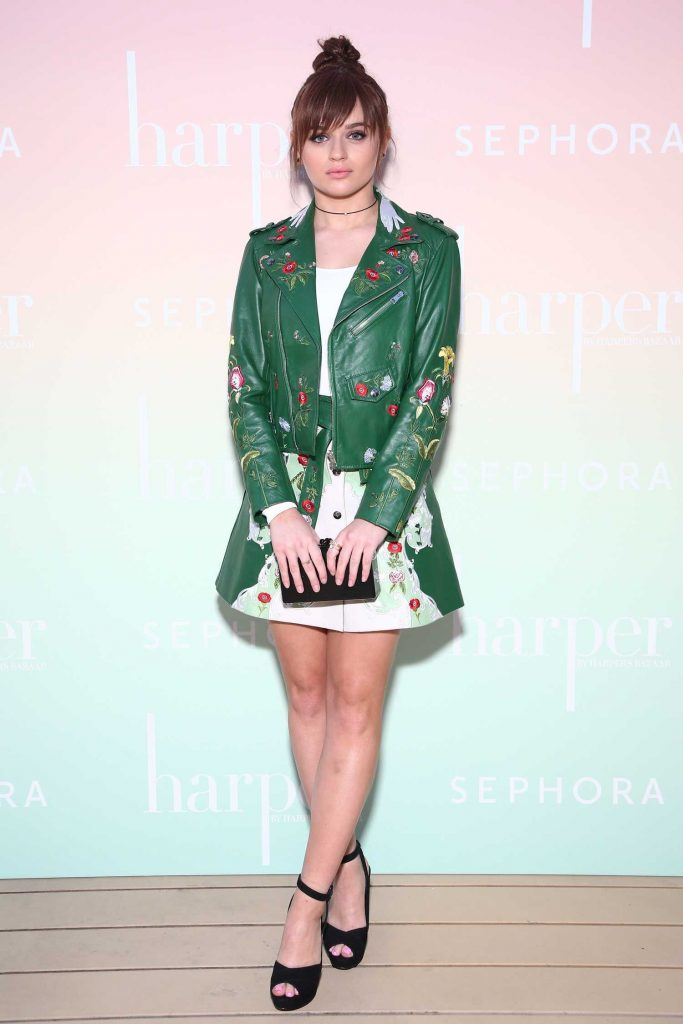 Joey King at the Harper's Bazaar May Issue Party in Los Angeles-1