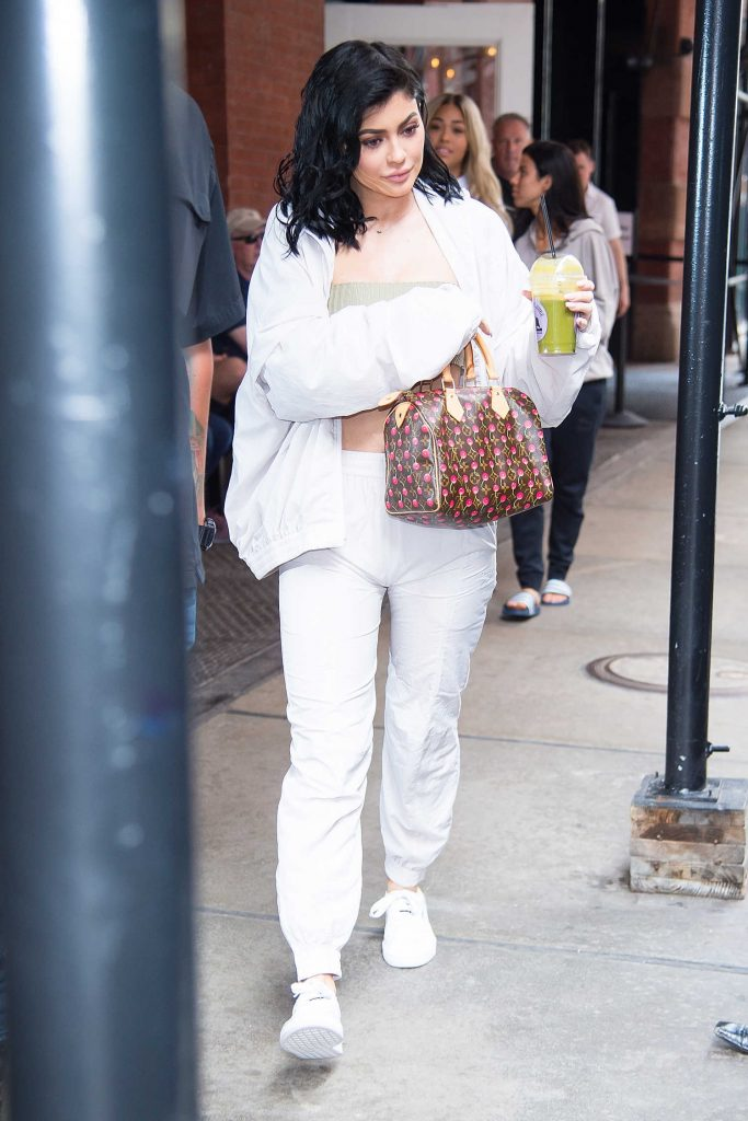 Kylie Jenner Leaves Her Hotel in New York City-1