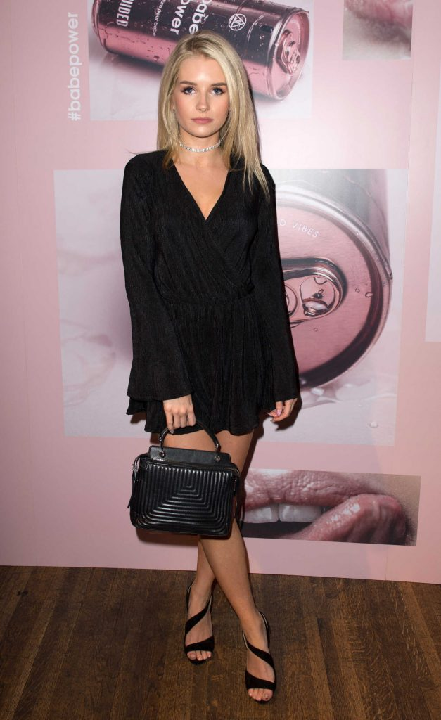 Lottie Moss at The Missguided Babe Power Launch Event in London-1