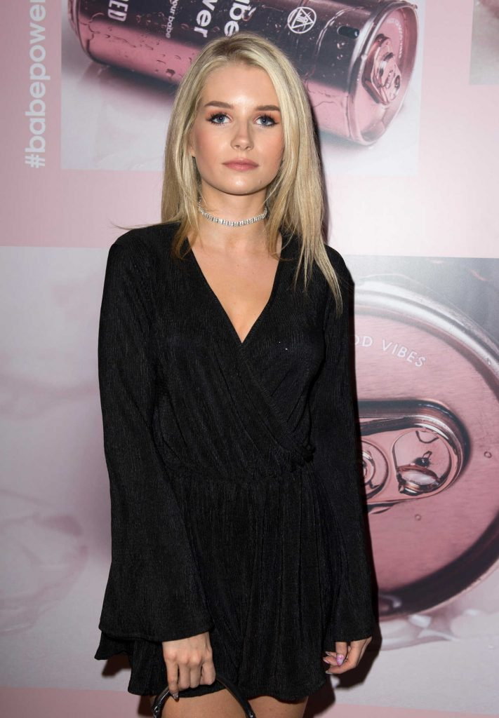 Lottie Moss at The Missguided Babe Power Launch Event in London-3