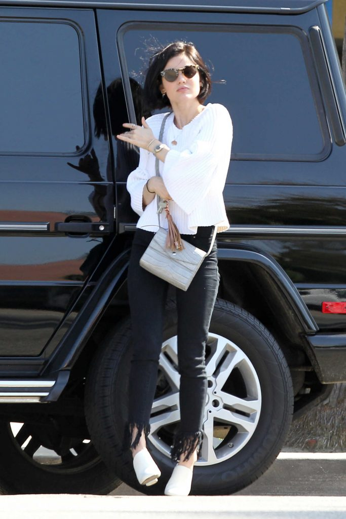 Lucy Hale Was Seen Out in Los Angeles-1