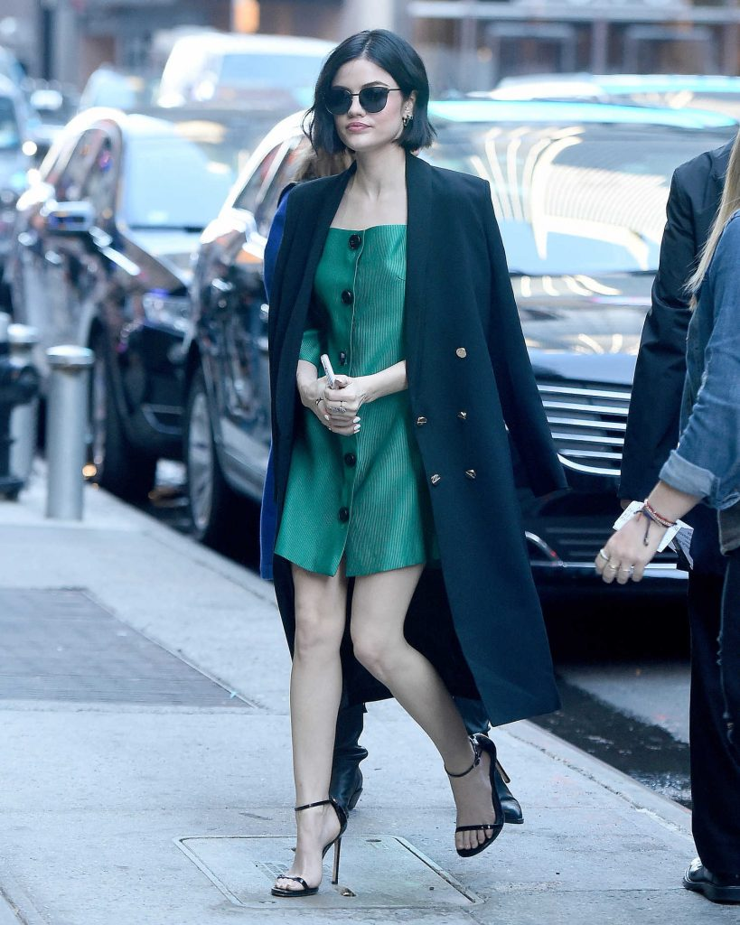 Lucy Hale Was Seen Out in New York-1