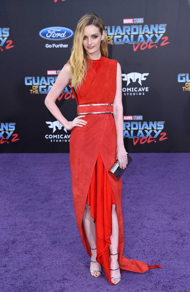 Lydia Hearst at the Guardians of the Galaxy Vol 2 Los Angeles Premiere-1