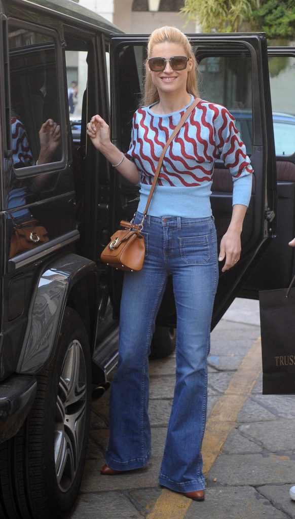 Michelle Hunziker Was Seen Out in Milan-1