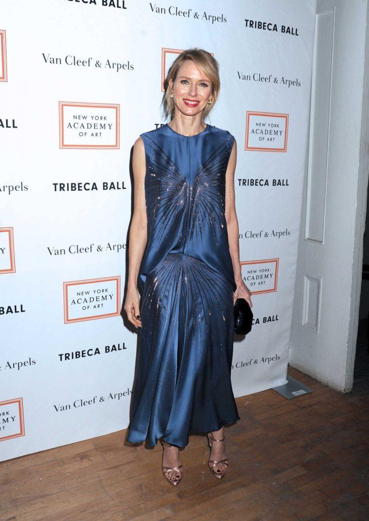Naomi Watts at the New York Academy of Art Tribeca Ball-1