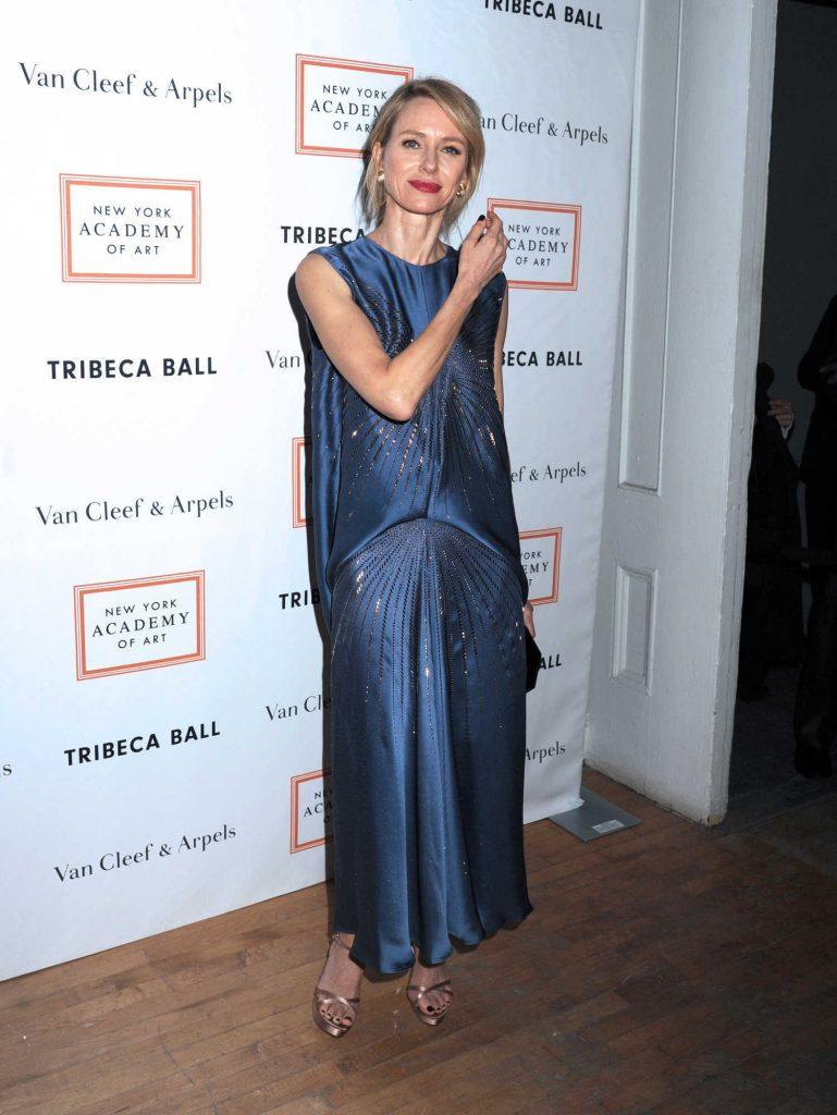 Naomi Watts at the New York Academy of Art Tribeca Ball-2