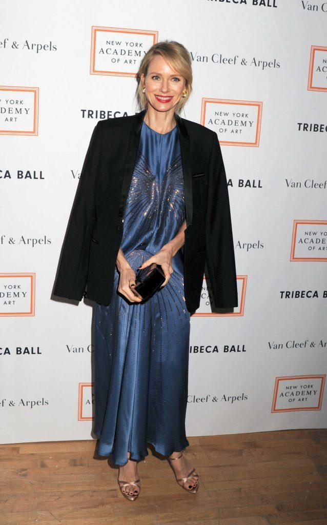 Naomi Watts at the New York Academy of Art Tribeca Ball-3