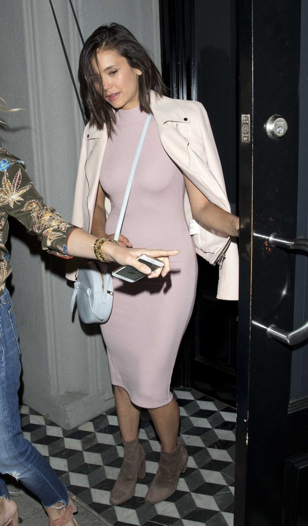 Nina Dobrev Leaves Craigs Restaurant in West Hollywood-1