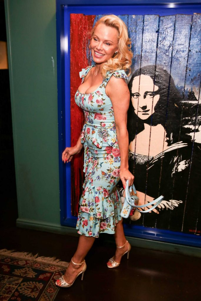 Pamela Anderson at the Coco de Mer: Icons Collection Launch Party in London-3