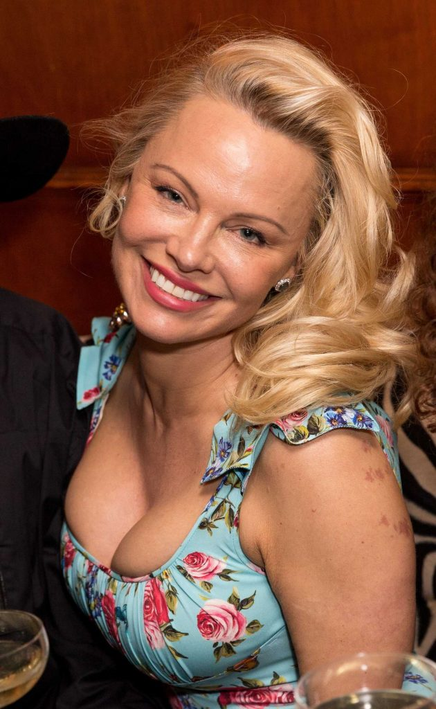 Pamela Anderson at the Coco de Mer: Icons Collection Launch Party in London-5
