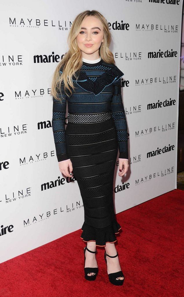 Sabrina Carpenter at the Marie Claire Celebrates Fresh Faces Event in Los Angeles-1