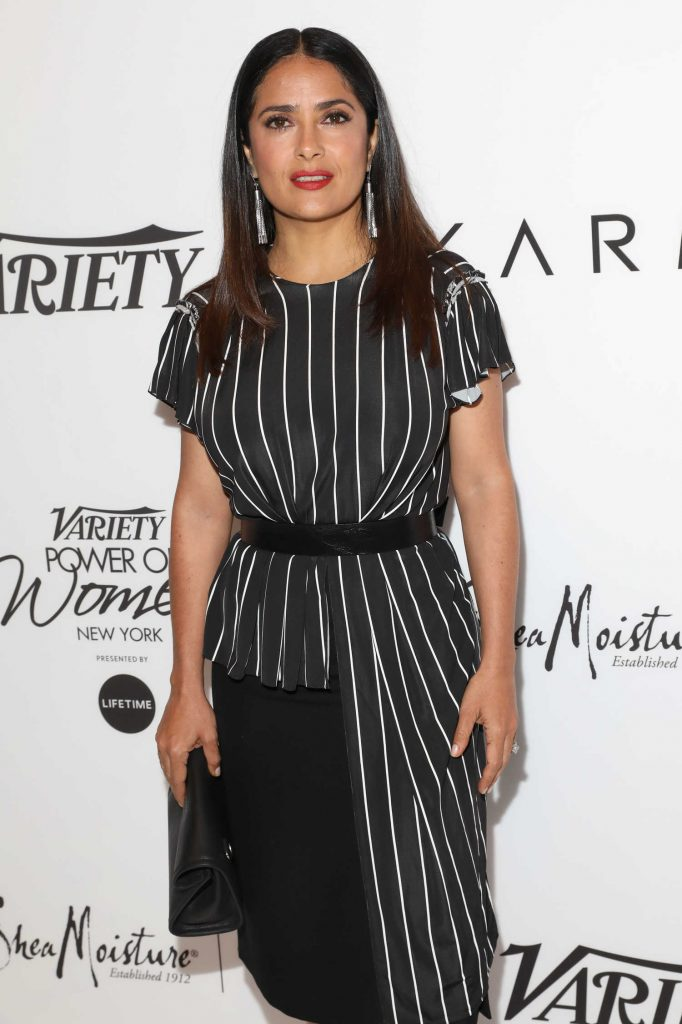 Salma Hayek at Variety's Power of Women NY Presented by Lifetime in New York-3