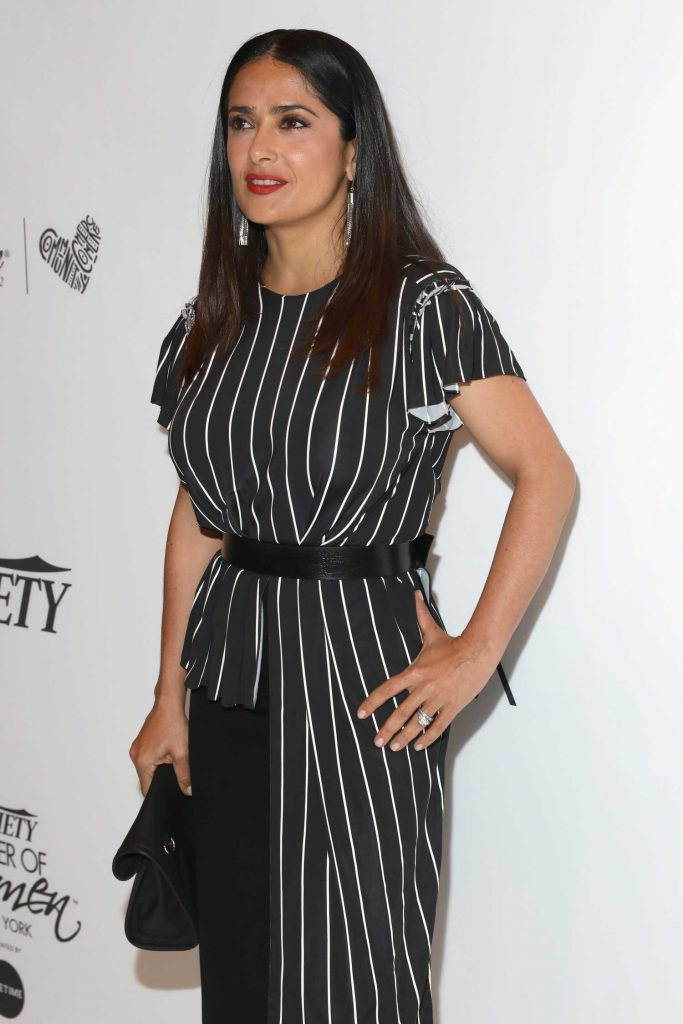 Salma Hayek at Variety's Power of Women NY Presented by Lifetime in New York-4